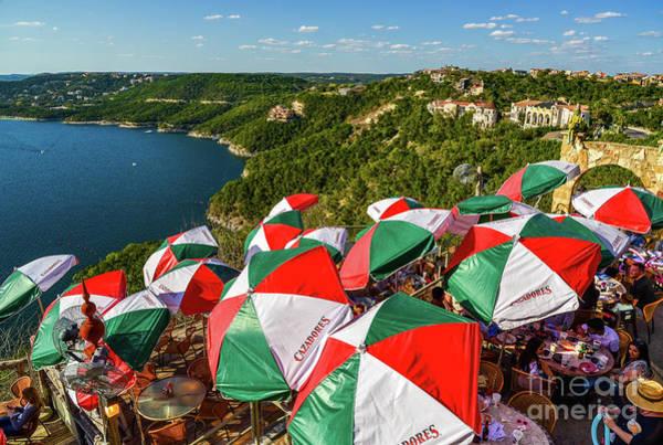 Photograph - Colorfull Umbrella's by Paul Quinn