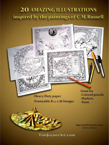 Drawing - Coloring Book Two by Tim Joyner