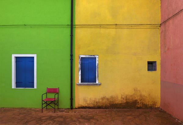 Alley Photograph - Colorland by Jure Kravanja