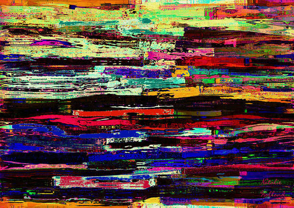 Blades Mixed Media - Colors And Textures by Natalie Holland
