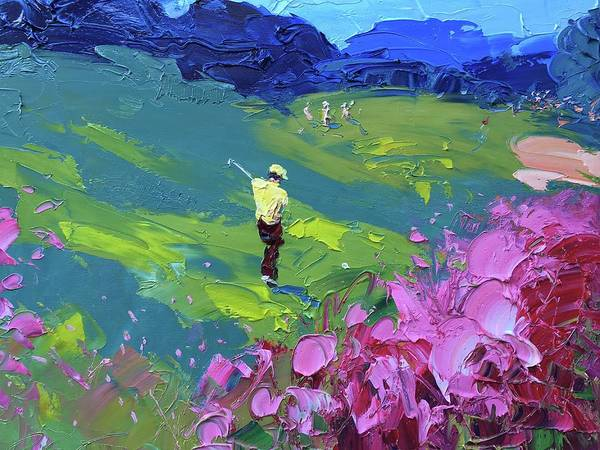 Augusta Masters Painting - Colors At Augusta Golf Club 234 by Agostino Veroni