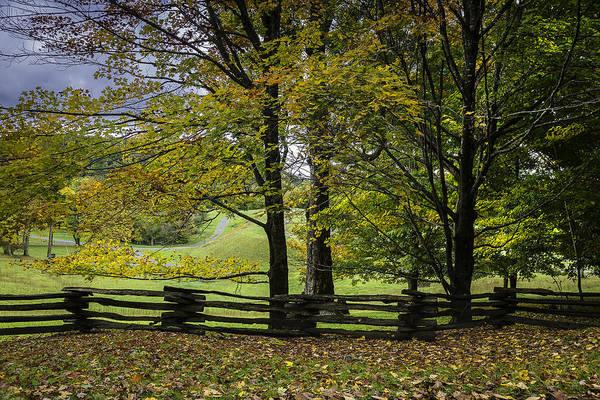 Photograph - Colors At Mac Rae Field by Ken Barrett