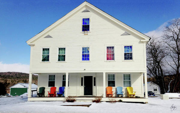 Photograph - Colors In A Pike Nh Home by Wayne King