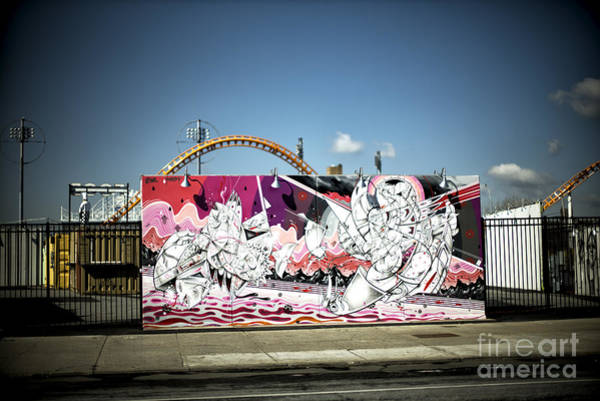 Wall Art - Photograph - Colors In Coney Island by John Rizzuto