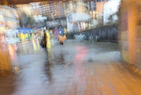 Photograph - Colors In The Rain by Alex Lapidus