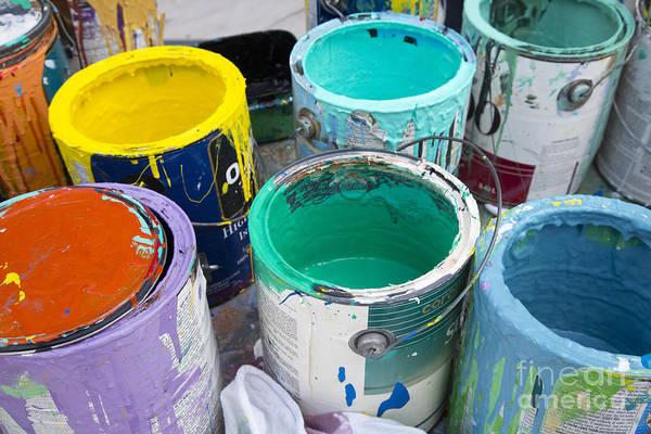 Photograph - Colors by Jim West