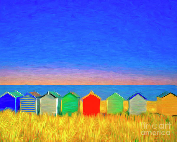 Digital Art - Colors Of A Seaside by Edmund Nagele