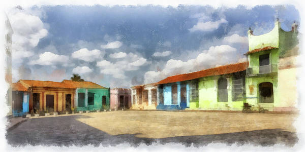 Colors Of Camaguey Art Print