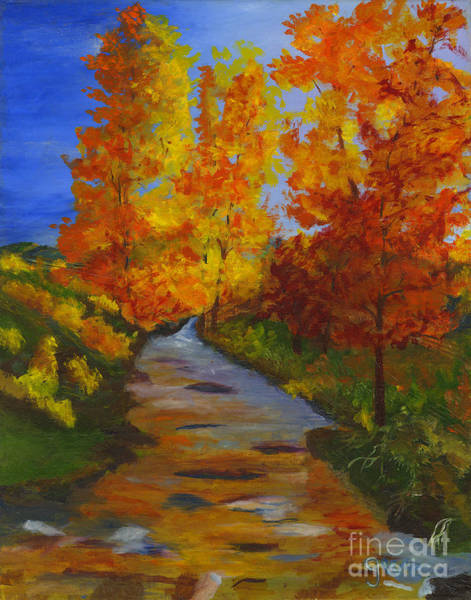 Wall Art - Painting - Colors Of Fall by Gloria Condon