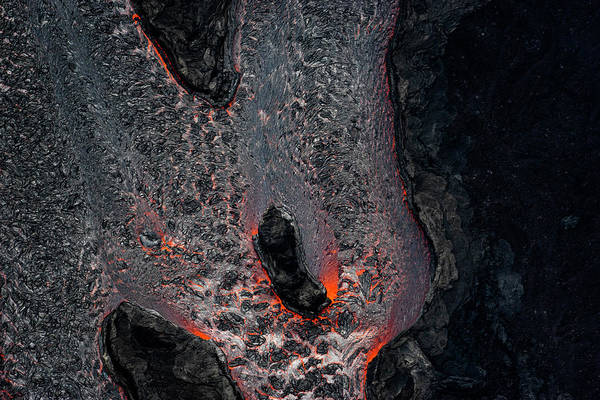 Fissure Photograph - Colors Of Lava by Christopher Johnson