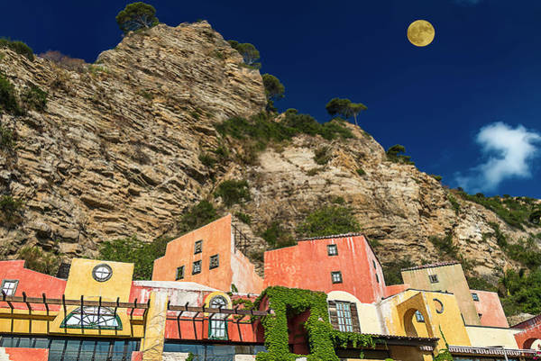 Photograph - Colors Of Liguria Houses - Facciate Case Colori Di Liguria 4 by Enrico Pelos