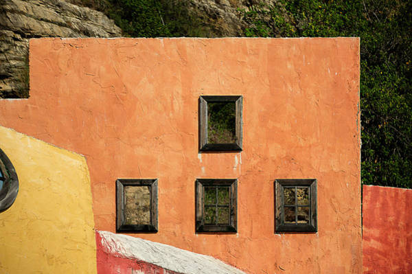 Photograph - Colors Of Liguria Houses - Facciatecolors Of Liguria Houses - Facciate Case Colori Di Liguria 1 by Enrico Pelos