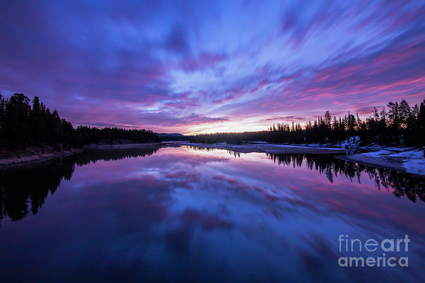 Wall Art - Photograph - Colors Of Morning Over Yellowstone River by Twenty Two North Photography