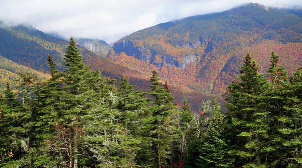 Photograph - Colors Of Mount Mansfield Vermont In October by Dan Sproul