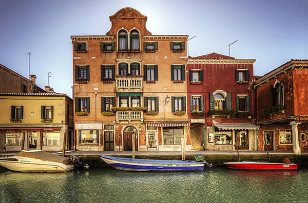 Photograph - Colors Of Murano by Ryan Wyckoff