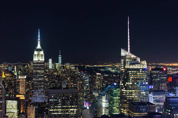 Photograph - Colors Of New York by Alex Lapidus