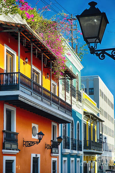 Wall Art - Photograph - Colors Of Old San Juan I by George Oze