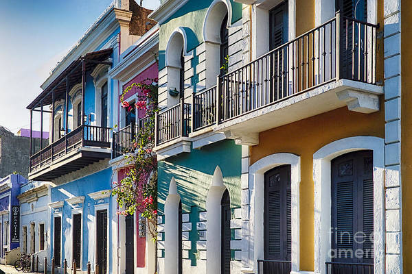 Wall Art - Photograph - Colors Of Old San Juan IIi by George Oze