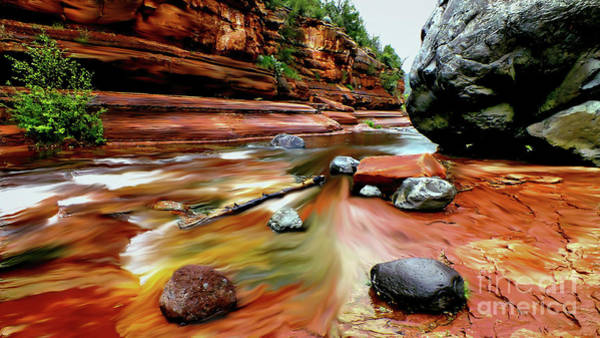 Peak Digital Art - Colors Of Sedona by Chandra Nyleen
