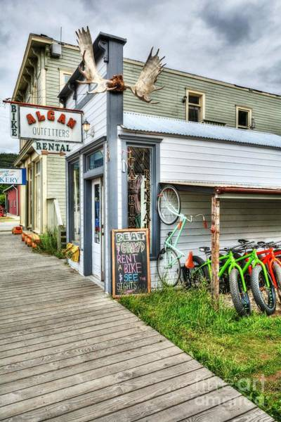 Photograph - Colors Of Skagway 2 by Mel Steinhauer