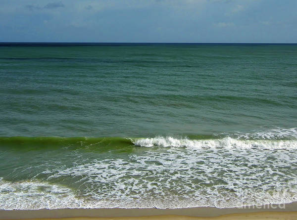 Photograph - Colors Of The Atlantic by D Hackett