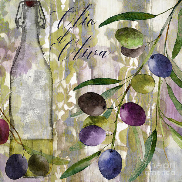 Olive Oil Painting - Colors Of Tuscany by Mindy Sommers