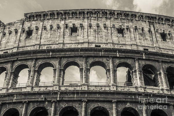 Amphitheater Wall Art - Photograph - Colosseum by Diane Diederich