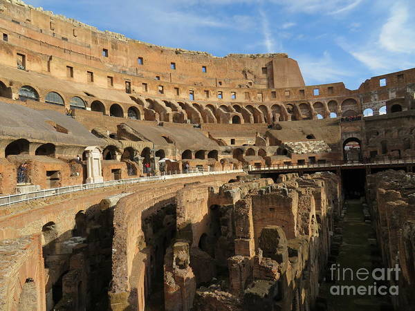 Photograph - Colosseum by Laurie Morgan