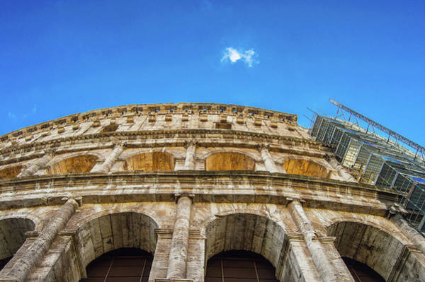 Wall Art - Photograph - Colosseum Perspective by Kyle Goetsch