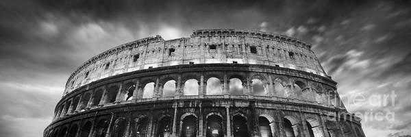 Coliseum Photograph - Colosseum - Rome by Rod McLean