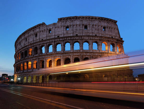 Photograph - Colosseum Rush by Rob Davies