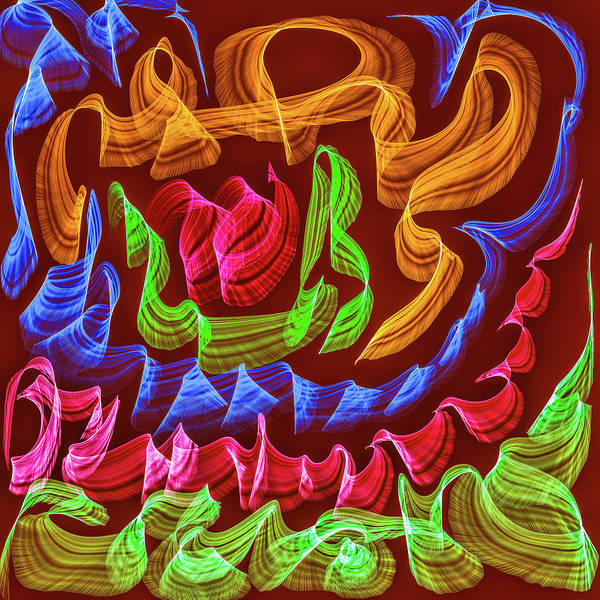 Digital Art - Colour Waves #h1 by Leif Sohlman