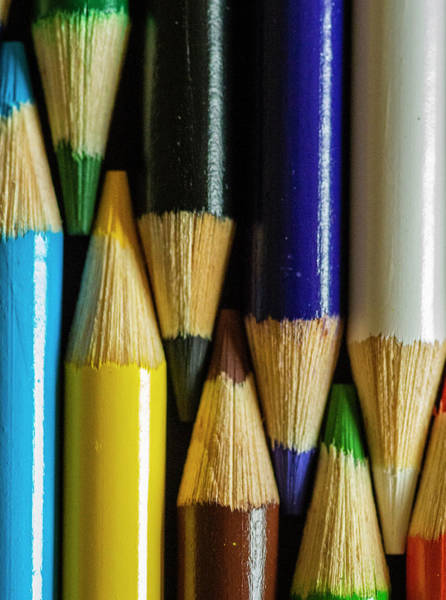 Photograph - Coloured Pencils  by Garvin Hunter