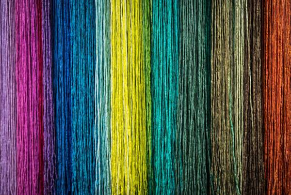 Painting - Coloured Rope by Shabby Chic and Vintage Art