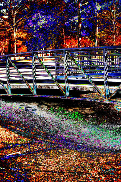 Photograph - Colourful Bridge by Maggy Marsh