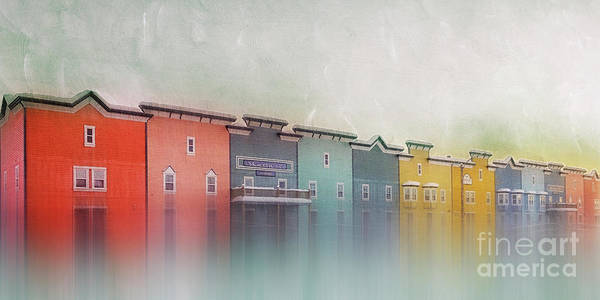 Yukon Territory Photograph - Colourful Dawson City by Priska Wettstein