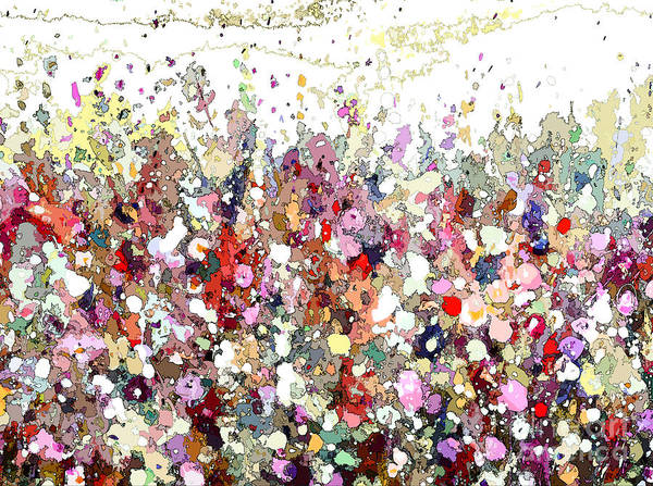 Painting - Colourful Meadow Iv by Tracy-Ann Marrison