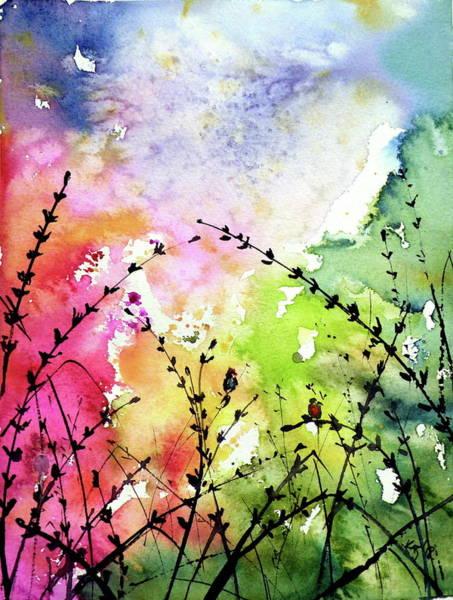 Wall Art - Painting - Colourful Mood by Kovacs Anna Brigitta