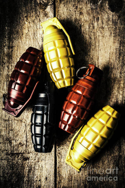 Military Photograph - Colourful Munitions  by Jorgo Photography - Wall Art Gallery