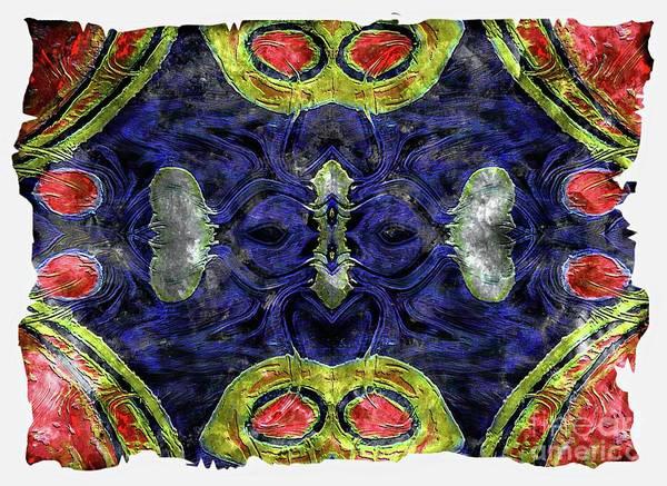 Mixed Media - Colourful  Sensations by Jolanta Anna Karolska