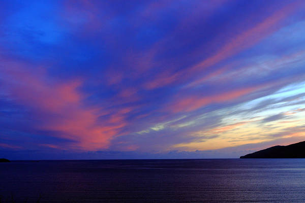 Photograph - Colourful Skies Over Ballinskelligs Bay by Aidan Moran