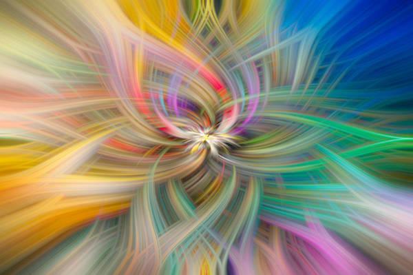 Wall Art - Digital Art - Colourful Spiral 2 by Roy Pedersen
