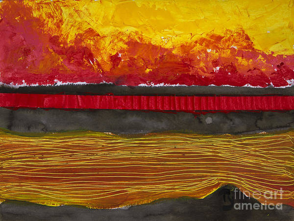 Wall Art - Photograph - Colourful Sunset Reflected In Water by Tara Thelen