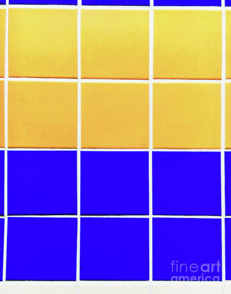 Wall Art - Photograph - Colourful Tiles Background by Tom Gowanlock