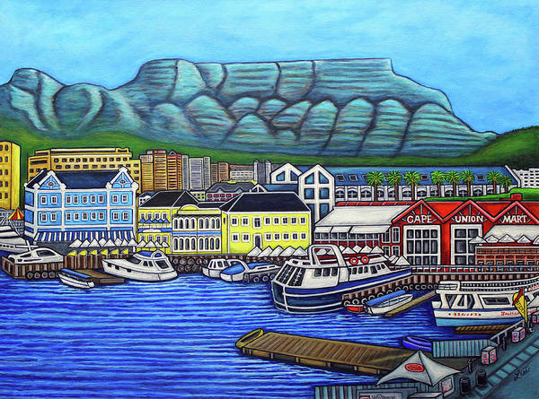 Painting - Colours Of Cape Town by Lisa Lorenz