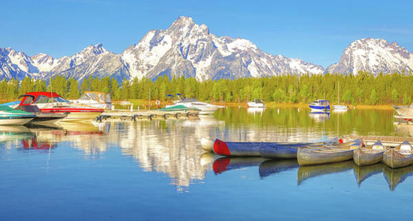 Photograph - Colter Bay Grand Tetons by Dan Sproul