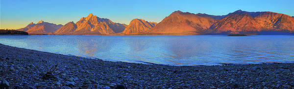 Photograph - Colter Bay Panorama by Greg Norrell