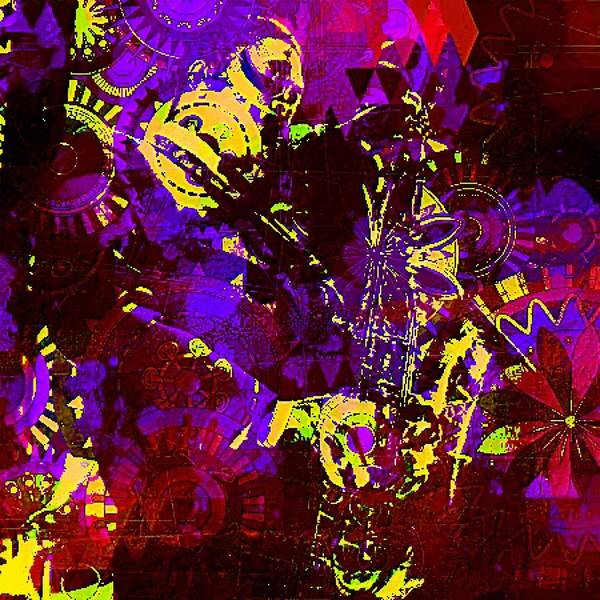 John Coltrane Wall Art - Digital Art - Coltrane by Brian Broadway