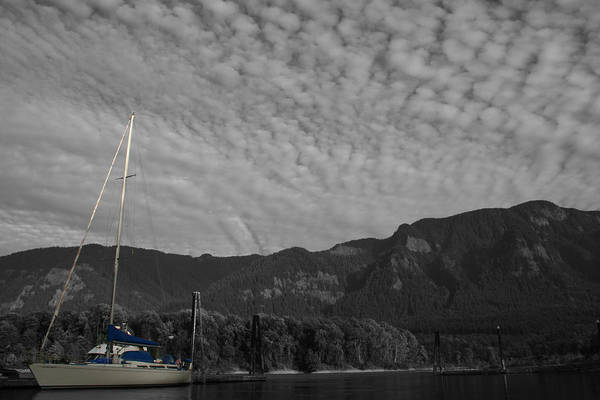 Photograph - Columbia Boat by Dylan Punke