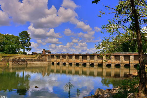 Wall Art - Photograph - Columbia Canal Columbia South Carolina by Lisa Wooten